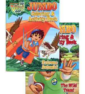 Diego Jumbo Coloring and Activity Book 9