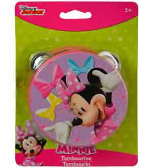 Minnie Bowtique Tambourine
