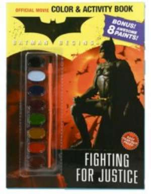 Batman Coloring Book W Water Color