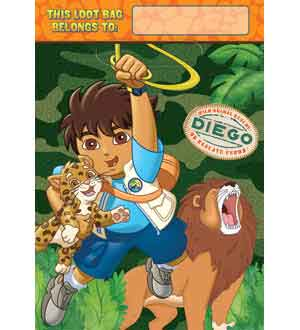Diego Biggest Rescue Lootbag 8ct
