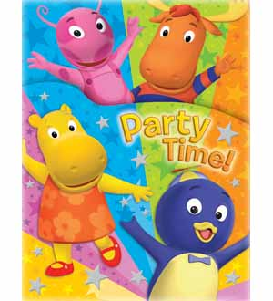Backyardigans Die Cut Invite
