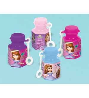 Sofia The First Mini Bubbles 12ct