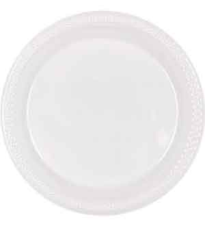 Clear Plate (S) 20ct