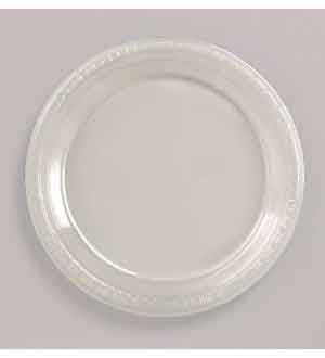 Clear Plate (L) 20ct