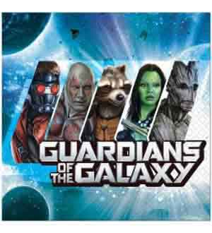 Guardians of the Galaxy Napkin (L) 16ct