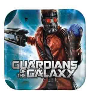 Guardians of the Galaxy Plate (S) 8ct