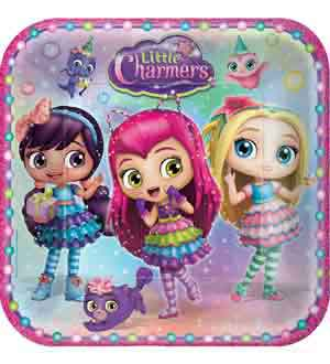 Little Charmers Plate (L) 8ct