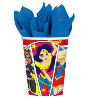 DC Super Hero Girls Cup 9oz 8ct