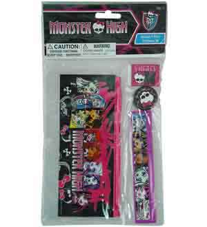 Monster High Stationery Set 4pc